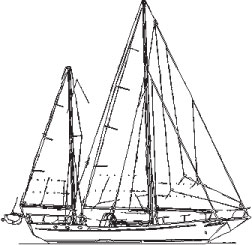 training vessel sail plan